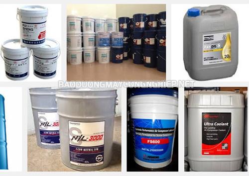 Cần sử dụng đúng loại dầu chuyên dụng cho máy nén khí