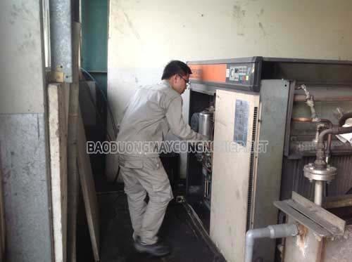 Sửa chưa bảo dưỡng máy nén khí