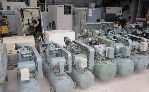 Máy nén khí cũ được nhiều người tiêu dùng tìm mua
