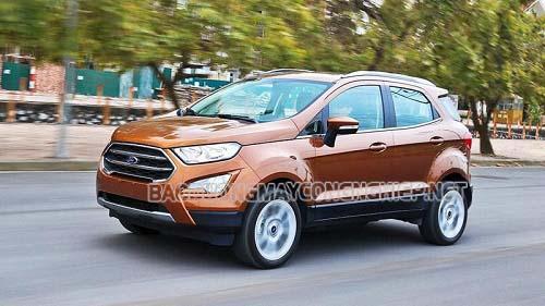 Xe Ford EcoSport được nhiều người dùng ưa chuộng