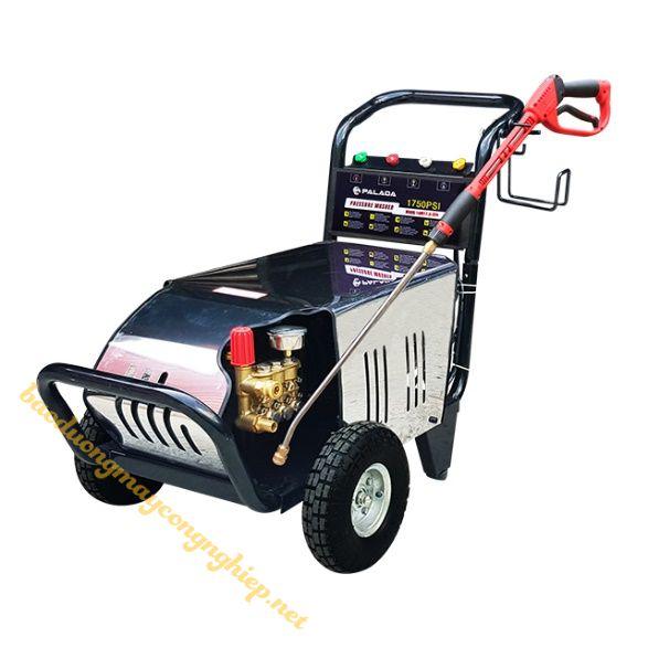 Máy rửa xe Palada hỗ trợ tốt việc rửa xe tại nhà