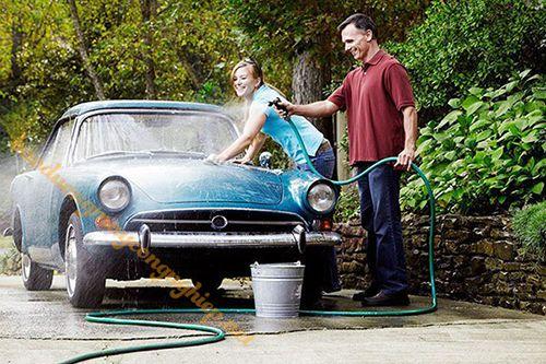 Cần lên lịch trình rửa xe tại nhà