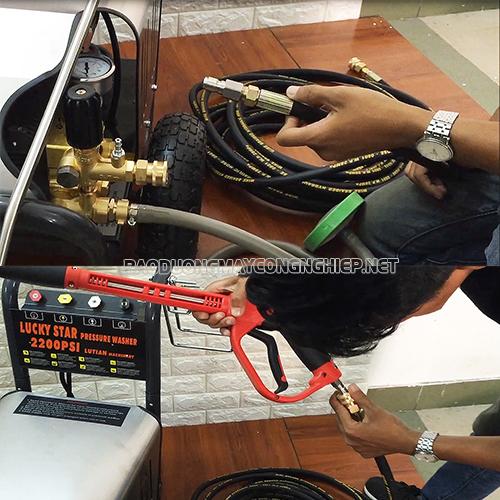 Bảo dưỡng máy phun rửa xe áp lực cao thì hiệu năng làm việc được lâu dài