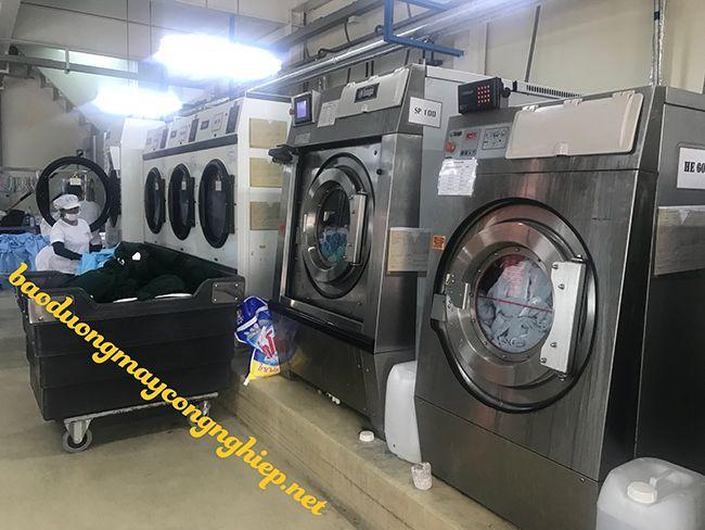 giặt thảm văn phòng bằng phương pháp giặt khô