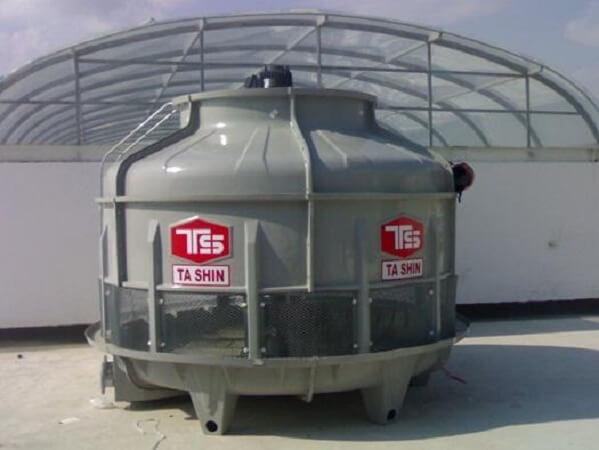 Mã HS của tháp giải nhiệt nước công nghiệp là 84195010