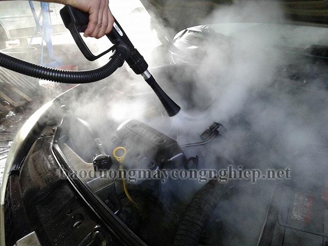 Cấu tạo của máy rửa xe hơi nước nóng