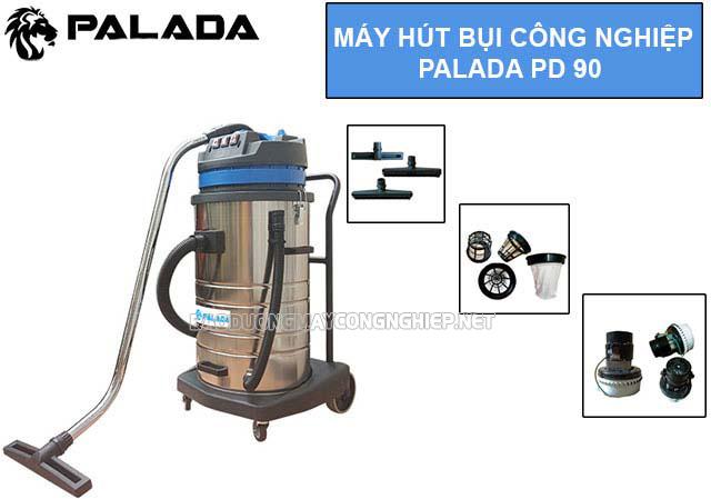 Máy hút bụi công nghiệp Palada PD 90
