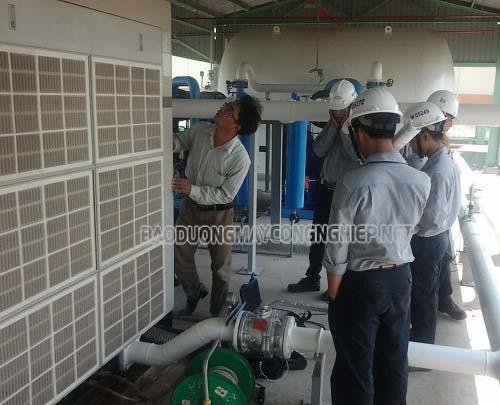 Đánh giá khả năng làm việc của máy nén khí trục vít
