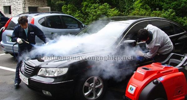 Tìm hiểu nguyên lý hoạt động của máy rửa xe nước nóng