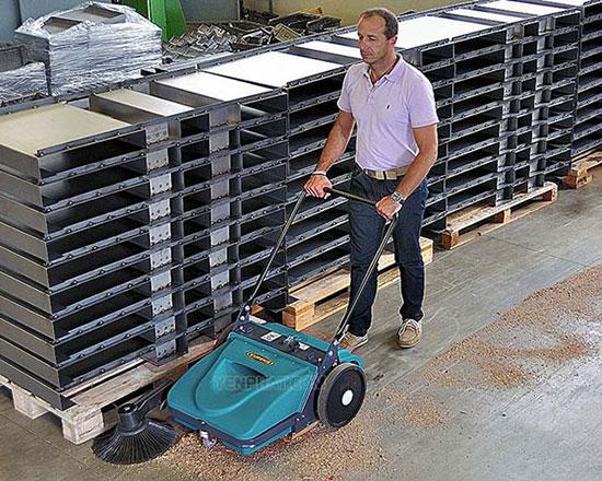 Xe quét rác Eureka có độ bền lớn