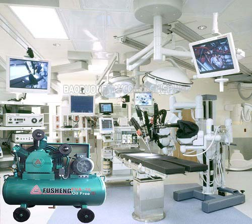 Nên mua máy nén khí y tế mới 100% để phục vụ công việc tốt nhất