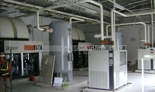 Bình chứa khí được sử dụng rất nhiều trong hệ thống công nghiệp