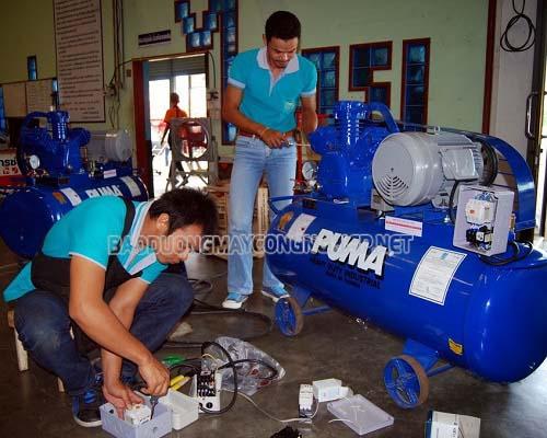 Máy nén khí Puma Trung Quốc phải thường được bảo dưỡng thường xuyên