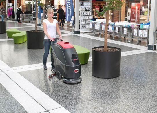 Máy lau sàn công nghiệp có độ ồn thấp góp phần bảo vệ sức khỏe con người