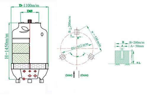 tháp giải nhiệt 10RT