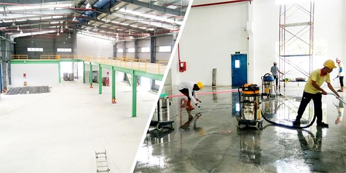 Lựa chọn thùng chứa bụi phù hợp với điện tích của nhà xưởng