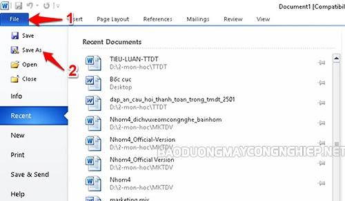 ghép file word online