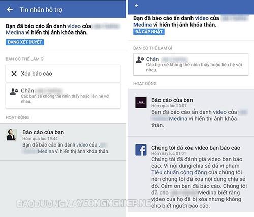facebook bị spam là gì