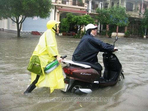 cách nhận biết xe máy bị ngập nước