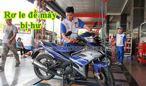 rơ le đề xe máy