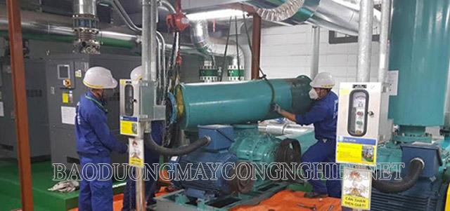 Kiểm tra,bảo trì cho máy thổi khí vận hành tốt