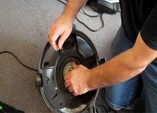 Các lỗi kỹ thuật thường gặp ở máy hút bụi
