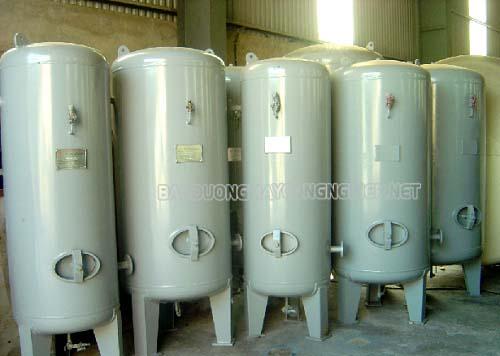 Tìm hiểu bình chứa khí nén là gì? Bình chứa cao áp là gì?