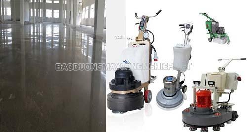 Máy mài sàn bê tông và những ưu điểm nổi trội