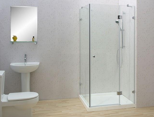 Chia sẻ cách làm sạch kính nhà tắm như mới